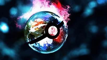 Desktop Pokemon Pokeball Wallpapers Glowing Cool Gaming