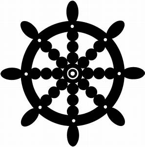 SignSpecialist.com – Beevault Decals - Ornate ship's wheel ...