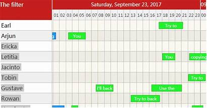 Calendar Timeline React Simple Demo