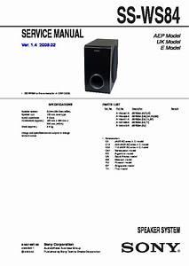 Sony Dav-dz30 Service Manual