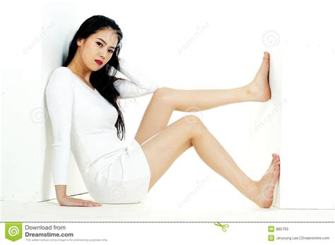 korean woman stock  image