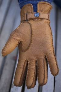 Hungant leather gloves