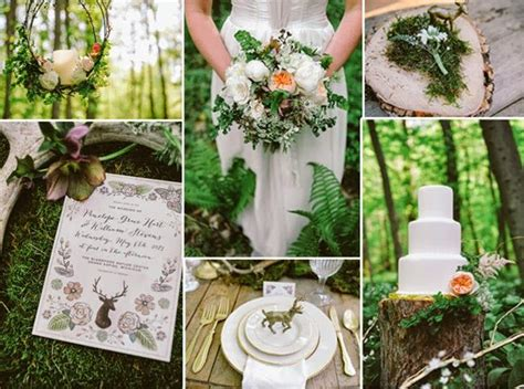 Rustic Spring Time Woodland Wedding Ideas All Things