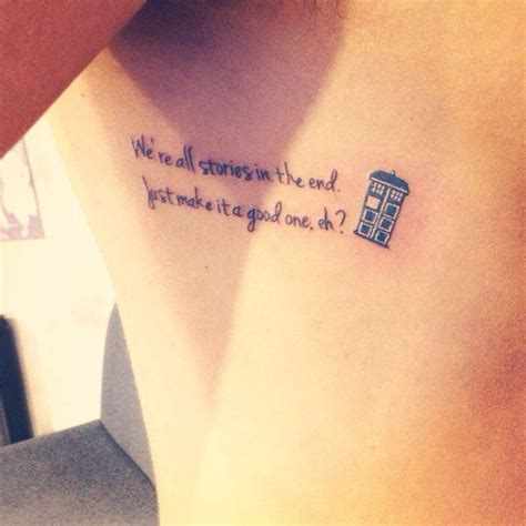 Doctor Who Tattoo  Tattoos And Piercings Pinterest
