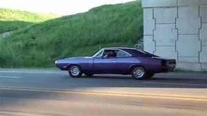 Gta Mopar 1970 Dodge Charger R  T Se 440 Six Pack Burnout