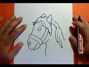 Como dibujar un caballo paso a paso 4 How to draw a horse 4 YouTube