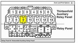 2000 Beetle Relay Panel Diagram  Parts  Wiring Diagram Images