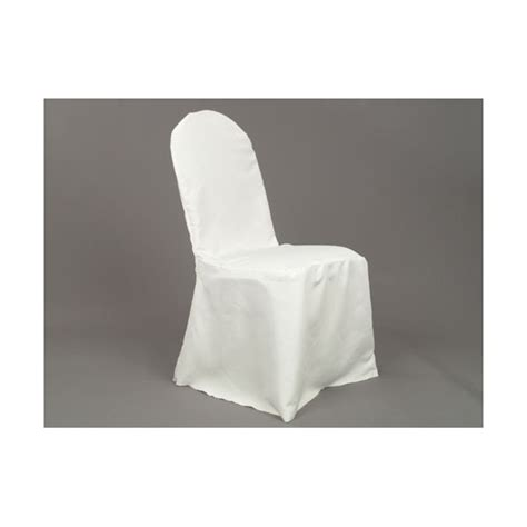 polyester banquet chair cover ivory depot