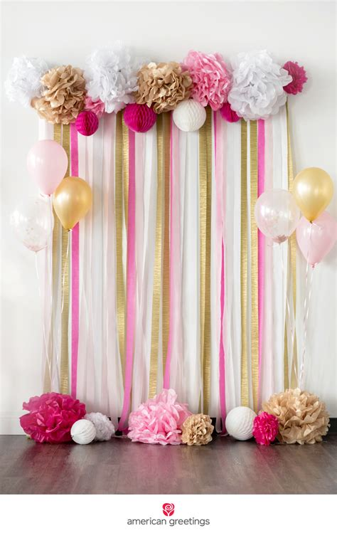 Diy Theme Backdrop by Pink And Gold Birthday Ideas In 2019 Ideas