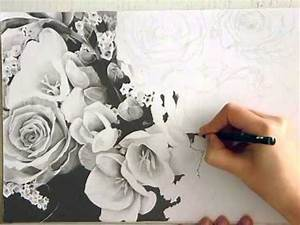 Dessin Fleur De Cerisier Japonais Noir Et Blanc : dessin de fleurs noir et blanc youtube ~ Melissatoandfro.com Idées de Décoration