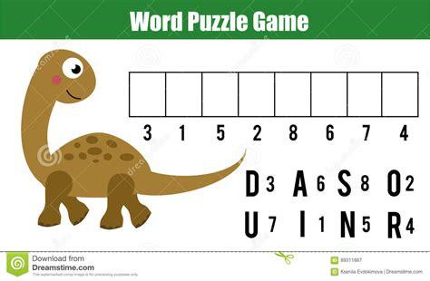 parole di 5 lettere letto parole puzzle il gioco educativo i bambini con le