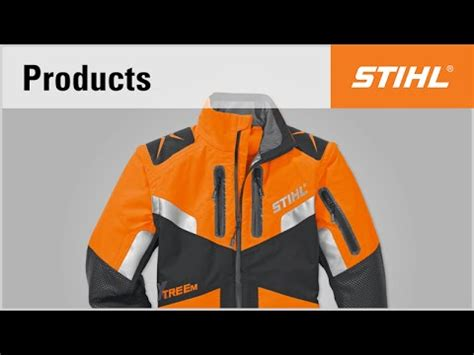 stihl personal protective equipment for forestry professionals advance x treem