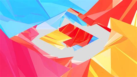 Abstract Shapes Background Hd by Abstract Digital Shapes Wallpapers Hd Desktop And