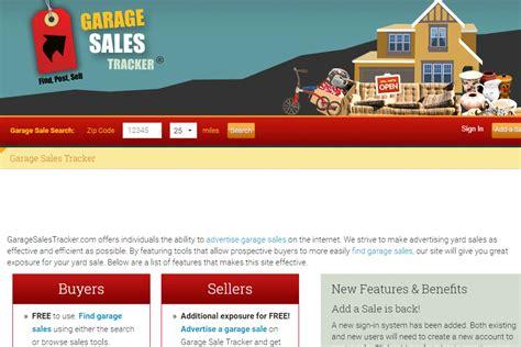 Garage Sale Website by 6 Ways To Find Nearby Garage Sales