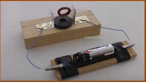 Build An Electric Motor by Amaze Your Classmates In Your Science Class By