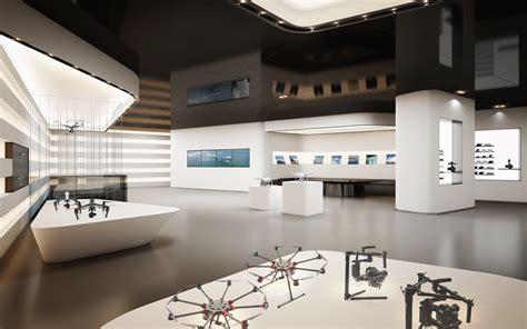 dji  open  hong kong flagship store  drone girl