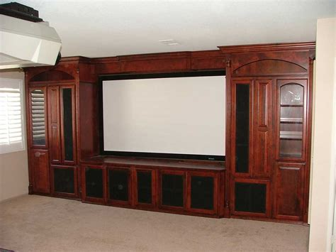 Home Theater Cabinets by Built In Custom Home Theater Cabinets Cabinet