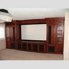 Built In Custom Home Theater Cabinets ⋆ Cabinet