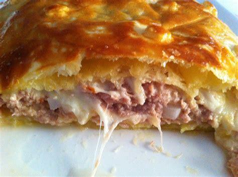 recette de cuisine de chef feuilleté thon mozzarella chut je cuisine