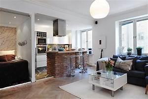 One, Room, Apartment, Design, Ideas