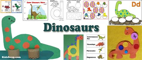dinosaurs kidssoup 327 | dinosaurs activities preschool