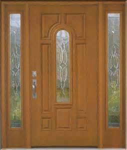 Fiberglass Exterior Doors with Glass