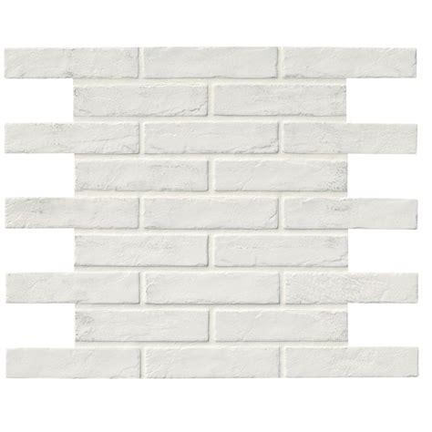ms international capella white brick 2 1 3 in x 10 in