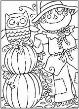 Coloring Fall Pages Printable sketch template