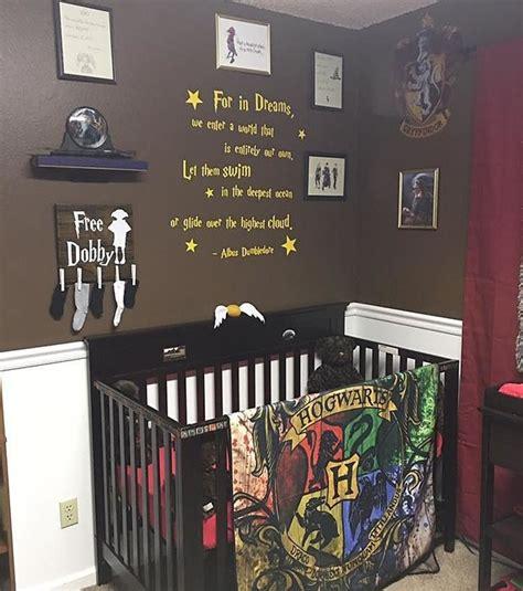 harry potter inspira decoração de quarto de bebê casa e jardim decoração
