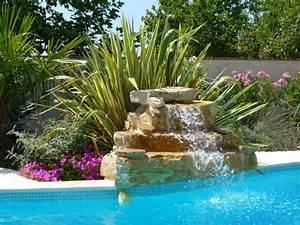 Piscine Avec Cascade : piscine avec cascade magicien d 39 eau ~ Premium-room.com Idées de Décoration