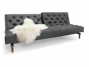 Chesterfield Sofa Weiss : black tufted chesterfield sofa bed by per weiss ~ Indierocktalk.com Haus und Dekorationen