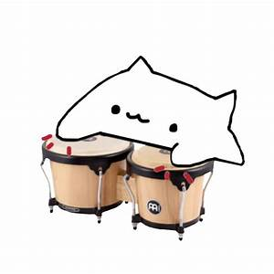 Bongo Size Chart Bongo Cat Meme T Shirt Teepublic