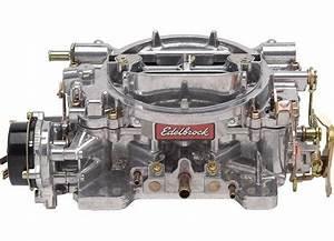 Edelbrock Carburetor Carb 600 Cfm Electric  With Images