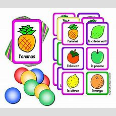 French Lotto Game With Flashcards  Fruit  Little Linguist