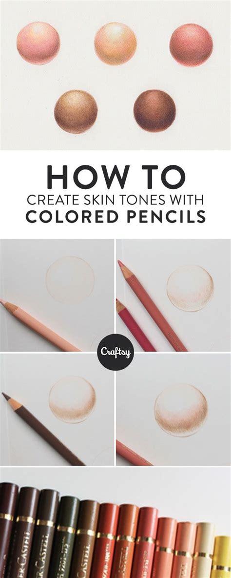 prismacolor skin tone colored pencils creating skin tones with colored pencils colored pencils