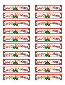 Avery 5160 Christmas Labels Templates Free