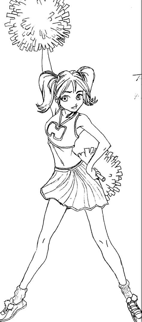 Free Cheerleader Drawing Download Free Clip Art Free