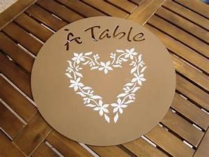 pochoir peinture sur bois table de lit With peinture au pochoir sur bois