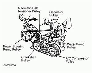 2006 Toyota Avalon 3 5l Serpentine Belt Diagram