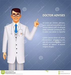 Doctor Giving Advice Stock Vector - Image: 41011857