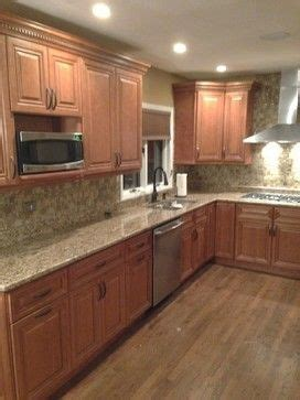 how install kitchen cabinets cinnamon maple cabinets grand luxe mosaic tile giallo 4363