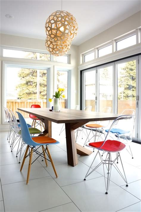 Kitchen Table Chairs Edmonton by Transparent Eames Eiffel Chair With Cushions Nee From