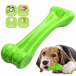 oneisall durable dog chew toys bone chew toy for puppy With dog beds for aggressive chewers