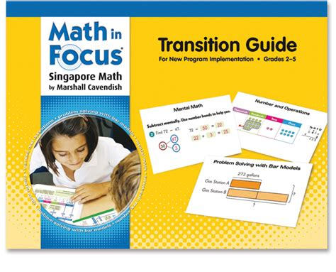 Math In Focus Grades K8  Singapore Math Curriculum