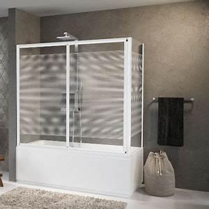 Rideau Baignoire Rigide : paroi vitree baignoire maison design ~ Nature-et-papiers.com Idées de Décoration