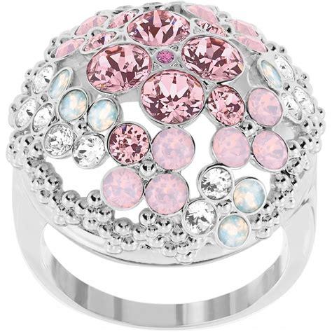 swarovski cherie ring floral ring
