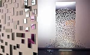 Miroirs Design Contemporain : d coration murale miroir contemporain la maison de miss sandra ~ Teatrodelosmanantiales.com Idées de Décoration