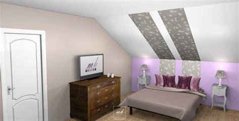 peinture chambre sous pente déco chambre sous pente