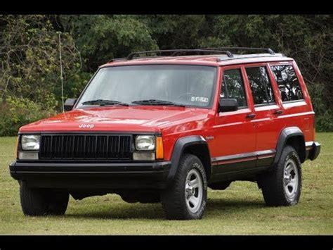 car repair manual download 1992 jeep cherokee regenerative braking 1994 jeep cherokee sport xj 4 0l i6 5 speed manual 4x4 red youtube