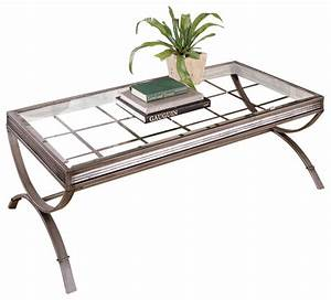 Emerson 3 pack brushed nickel contemporary coffee for Brushed nickel coffee table